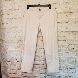 Banana Republic City Chino Stone Twill Pants sz 4